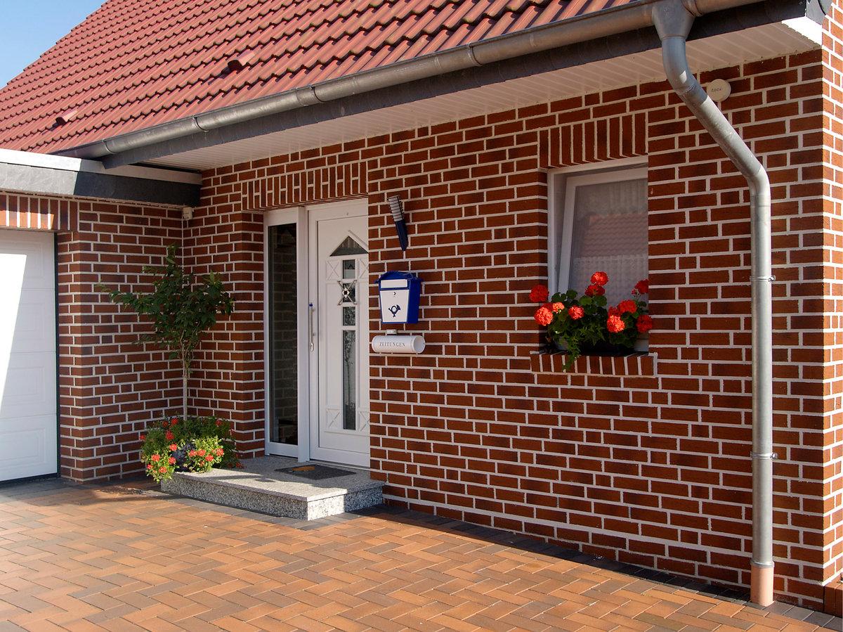 декоративный кирпичный фасад