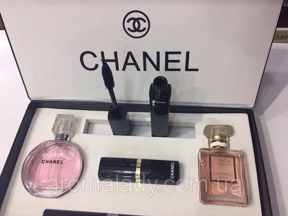 7001979704bc Набор 5 в 1 от Chanel. Набор шанель 5 в 1 отзывы Перейти на официальный