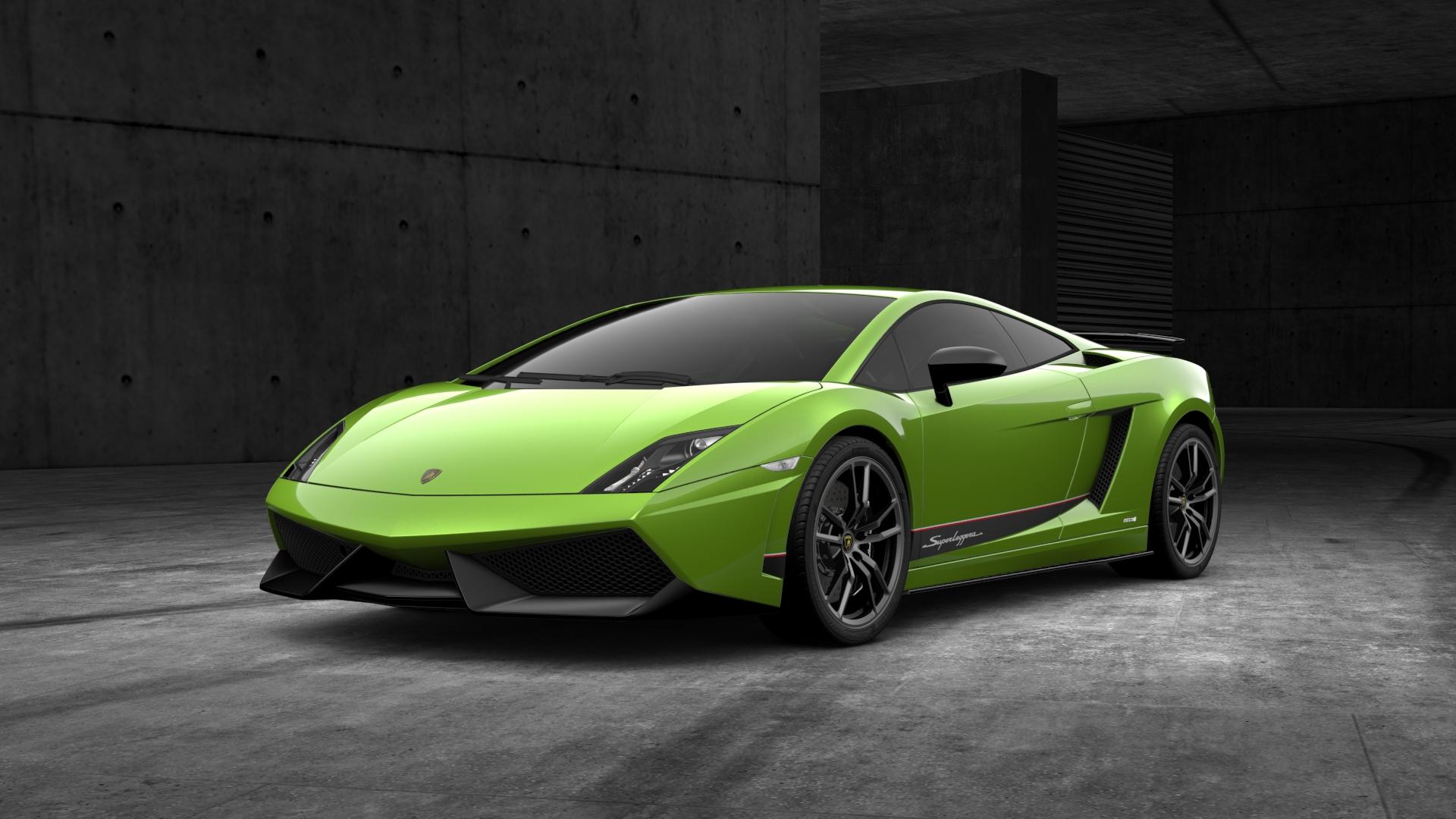 Lamborghini Gallardo Superleggera Green Image 146 Card From