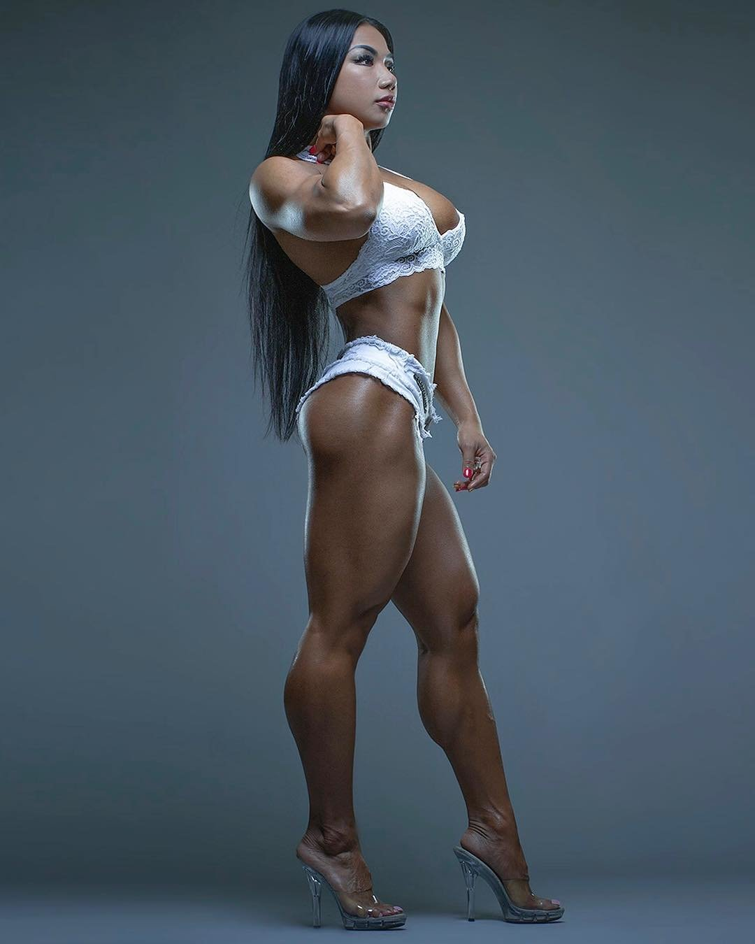 Asian fitness bikini