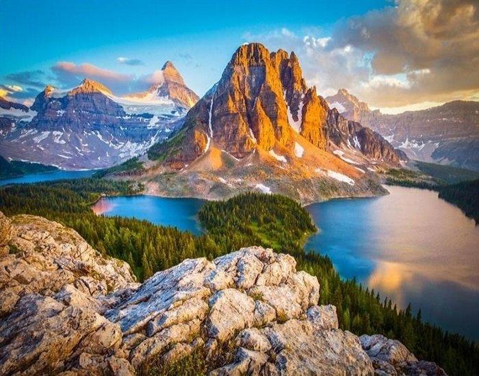 Красивые горы картинки на телефон, динозавр