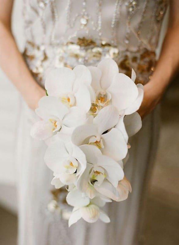 Букеты свадебные из орхидей, цветов букет руками