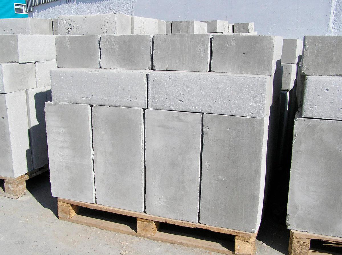 блоки из автоклавного ячеистого бетона