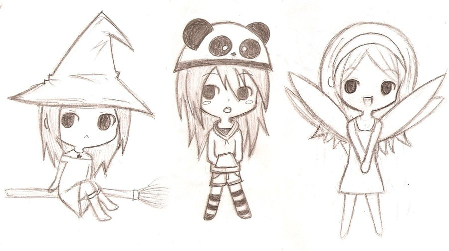 Animes Chibi Para Dibujar Imagui Card From User Solovey85907 In