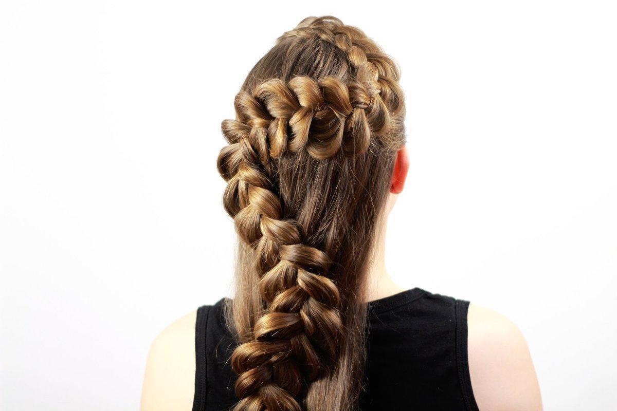 картинки косичек из волос вязать