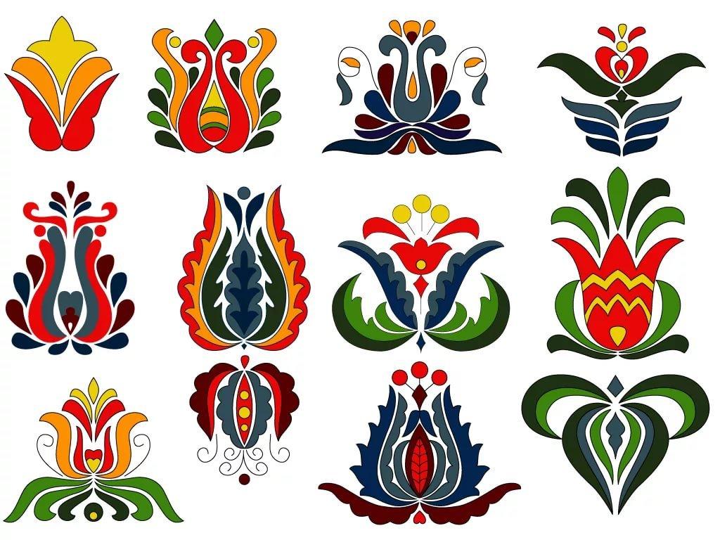 Татарский орнамент и узоры в картинках