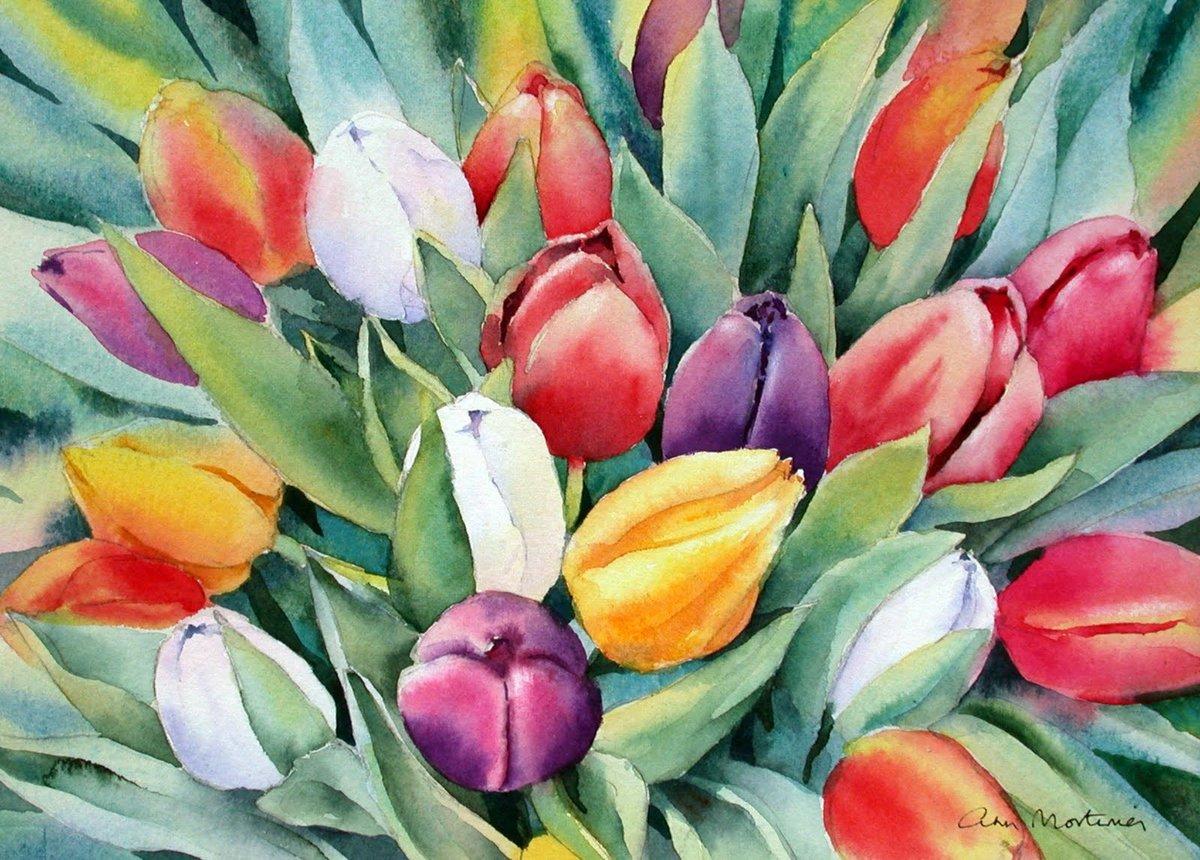 помощью этой декоративные картинки с тюльпанами это