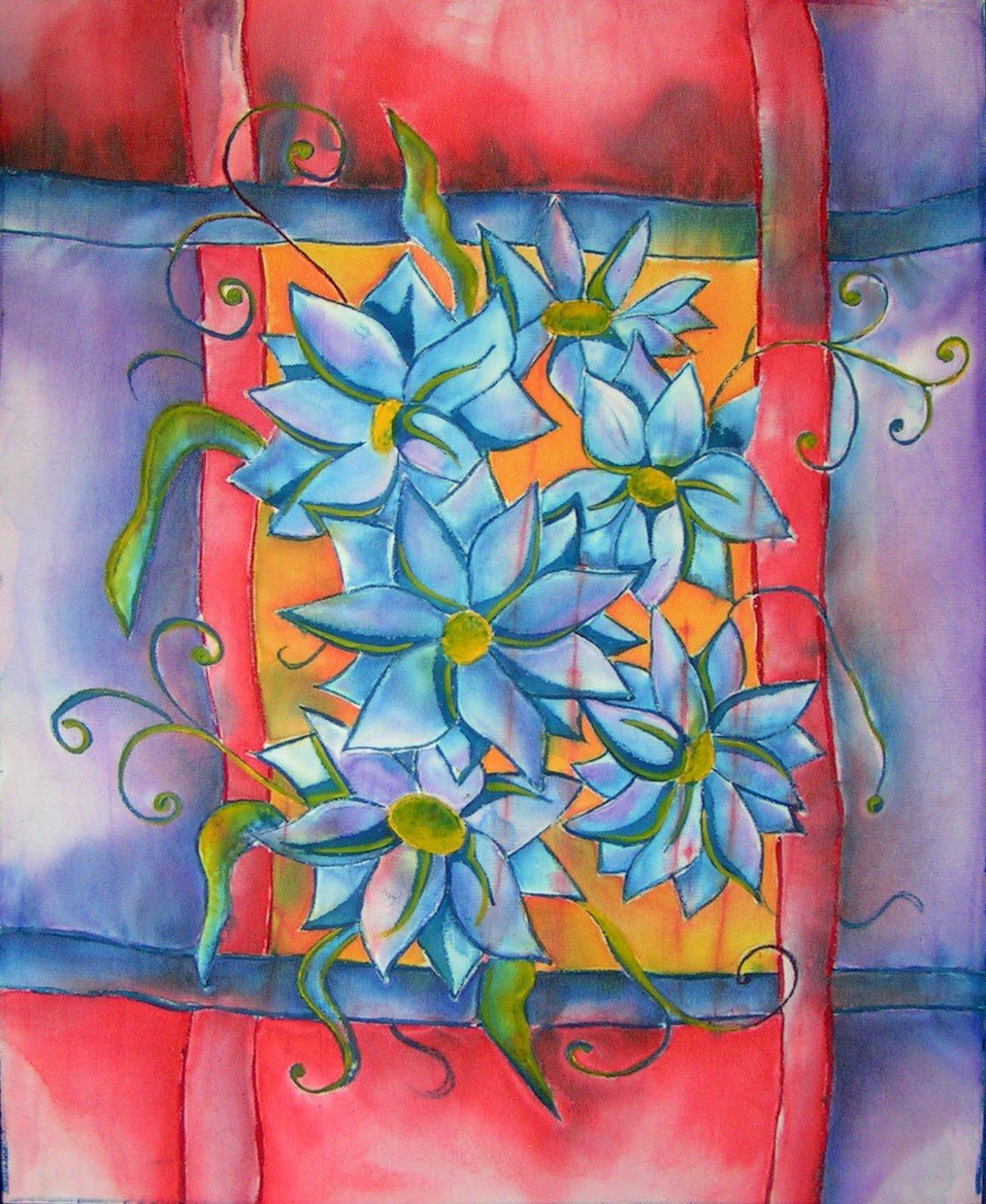 подготовке рисунки батиком на ткани картинки всегда