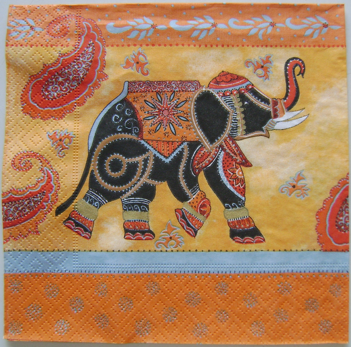 Открытки поздравления, картинки с индийским слоном
