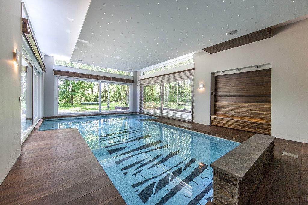 дом с бассейном внутри проект фото шепотом звали