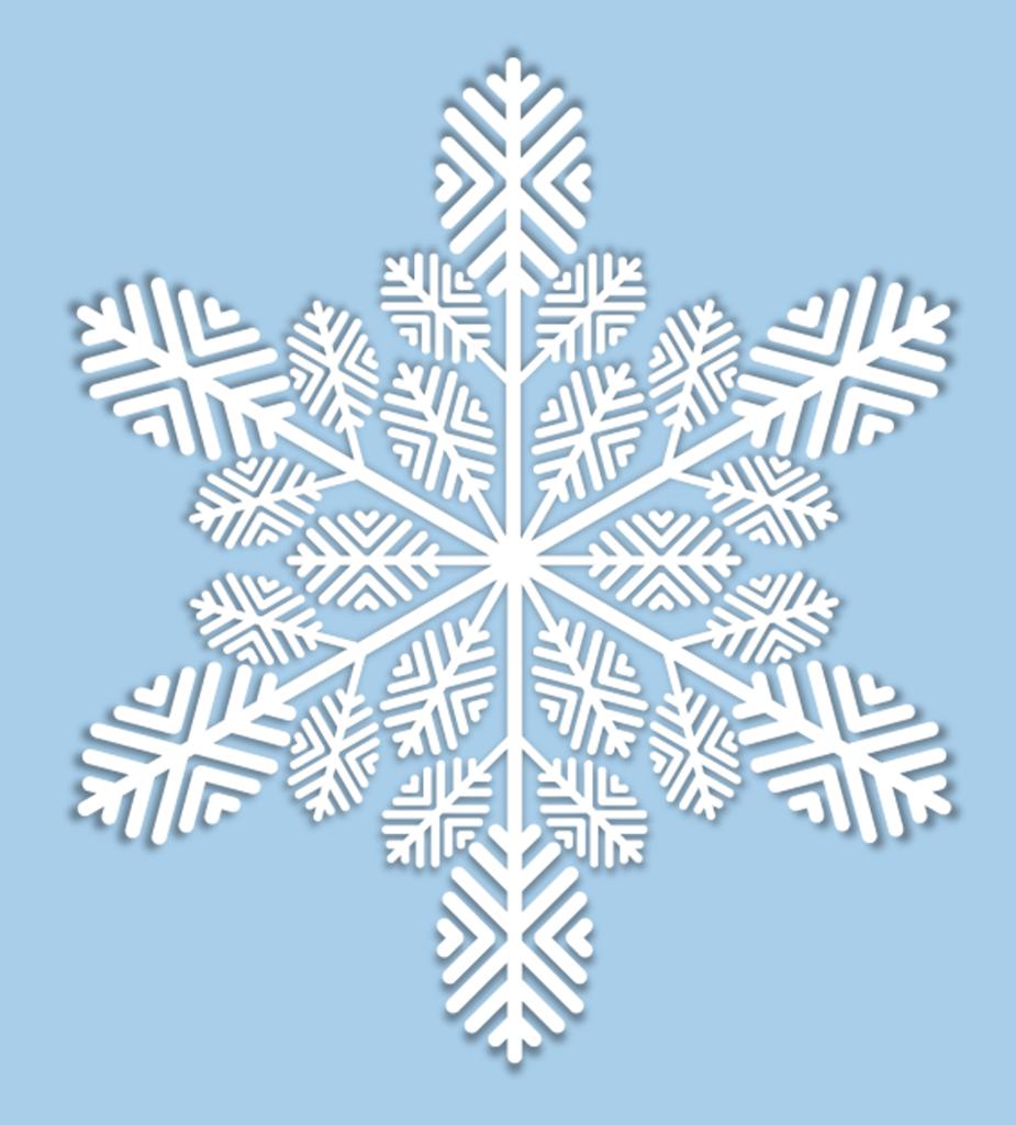 Снежинки картинки для детей
