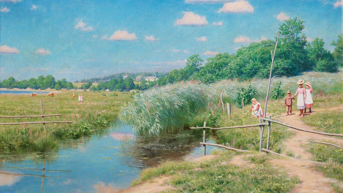 Картинки деревня летом на рабочий, открытки