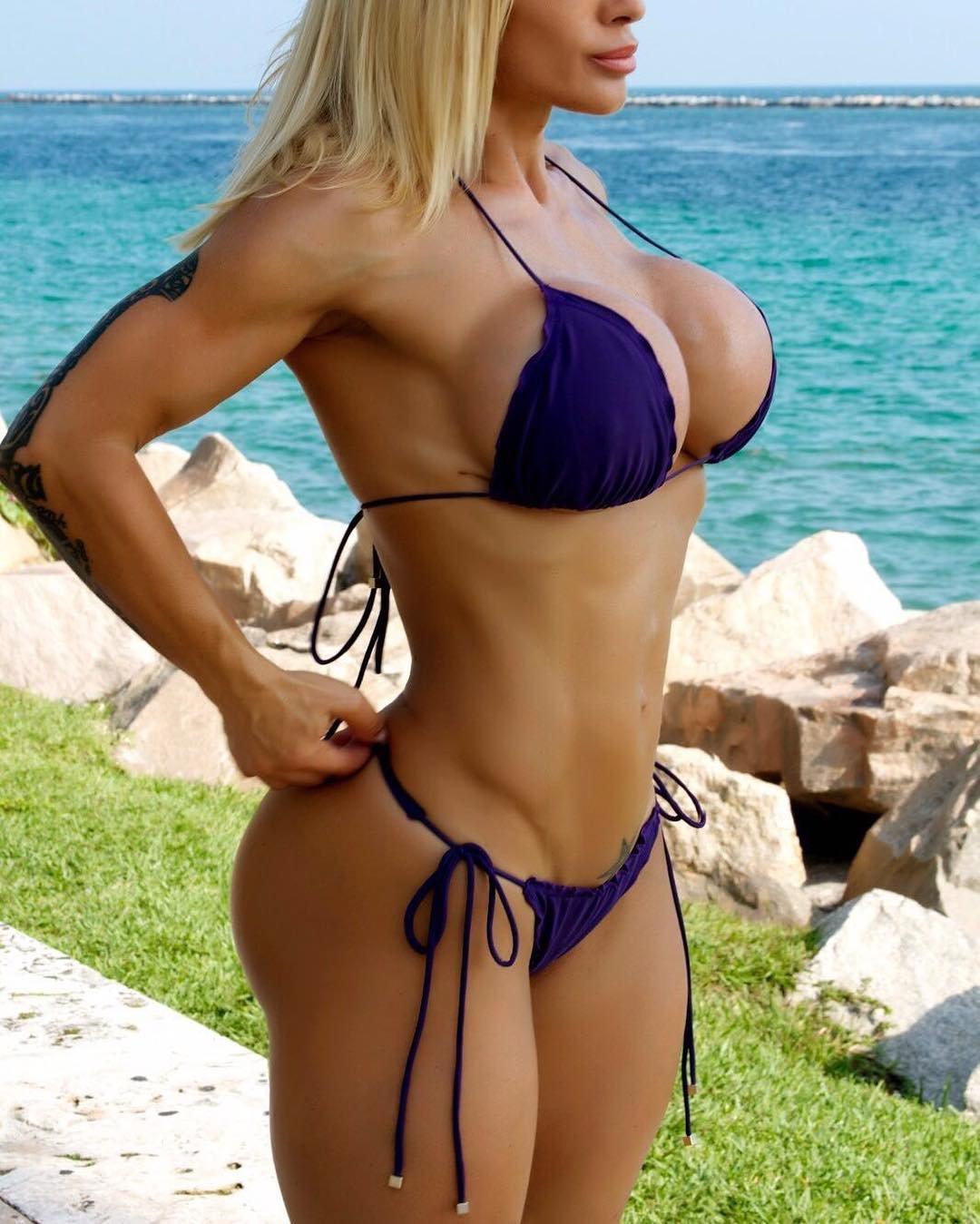 Silicone bikini