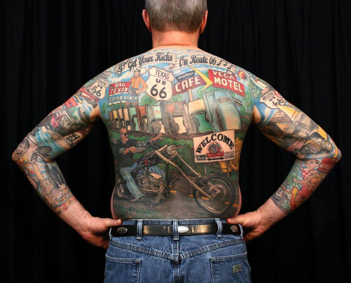 Татуировки байкеров картинки