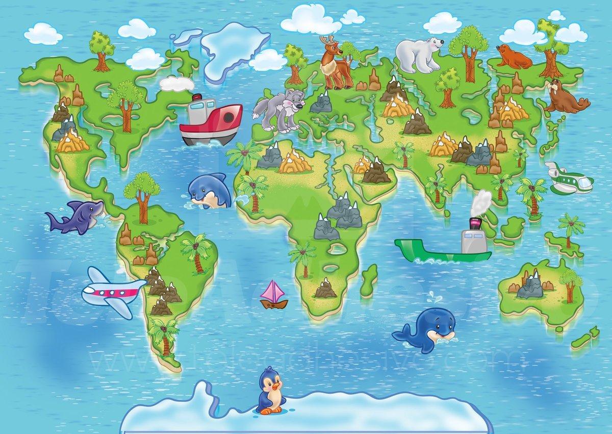 Марта сестренку, страны мира картинки для детей