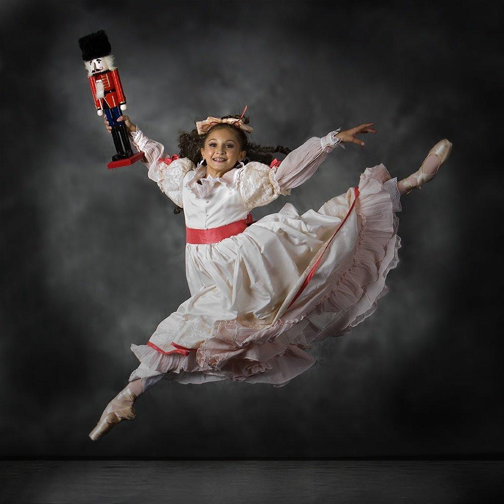 Новогодняя открытка балет, поздравления днем