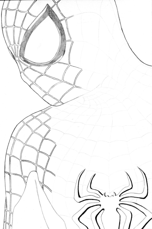фото человека паука чтобы нарисовать юань это первые
