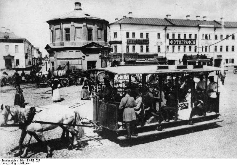 7 июня 1872 года в Москве началось строительство первой в городе конно-железной дороги
