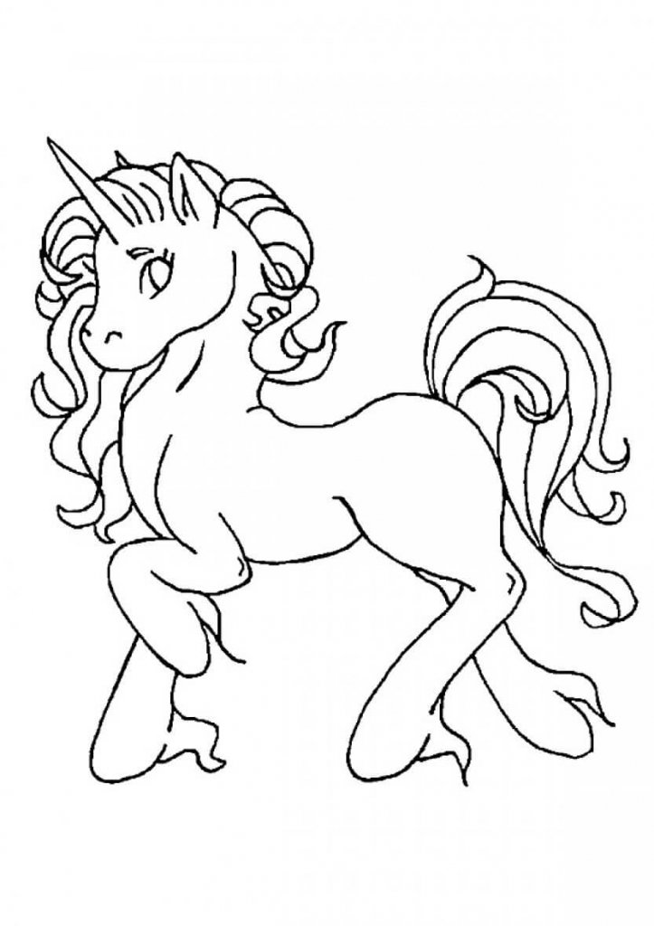 Winged Unicorn Coloring Pages Free Printable Coloring