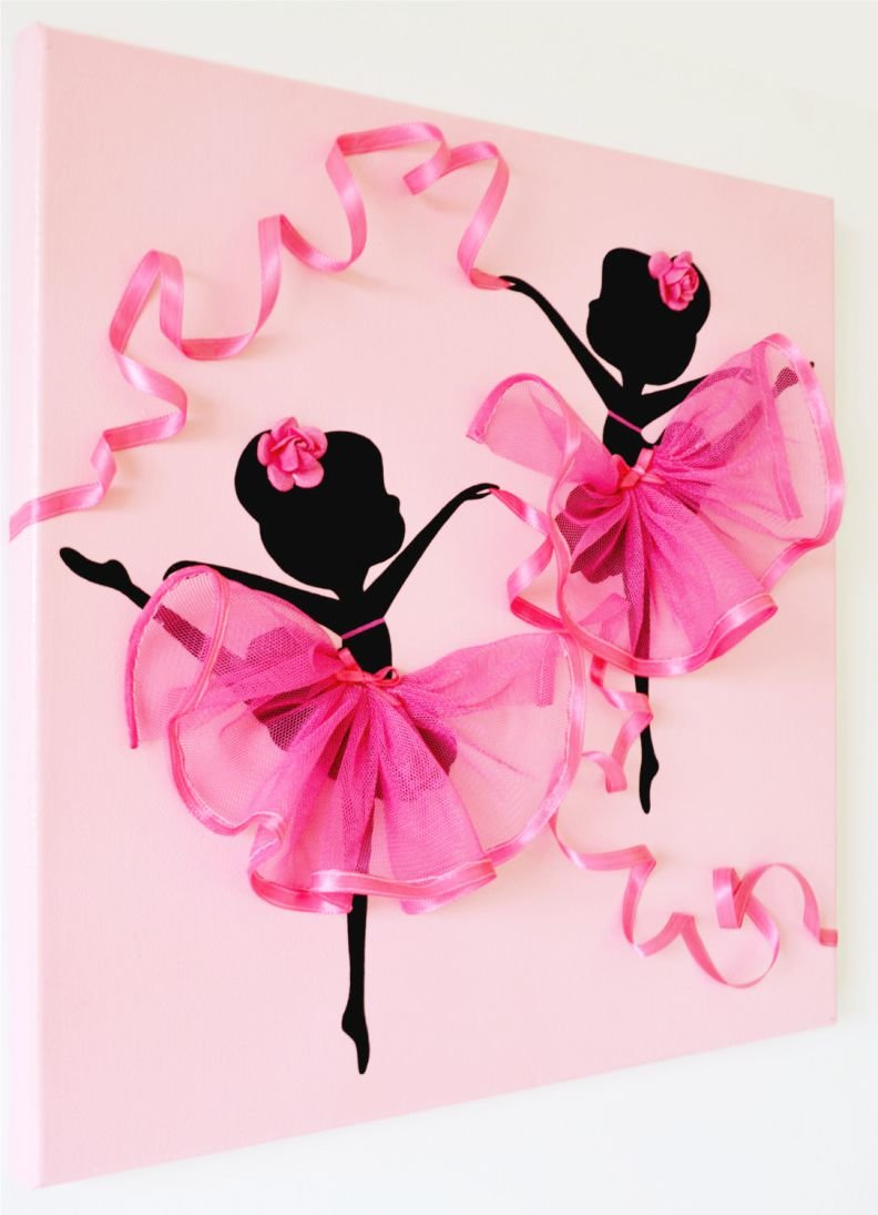 Бесконечные открытки своими руками балерина