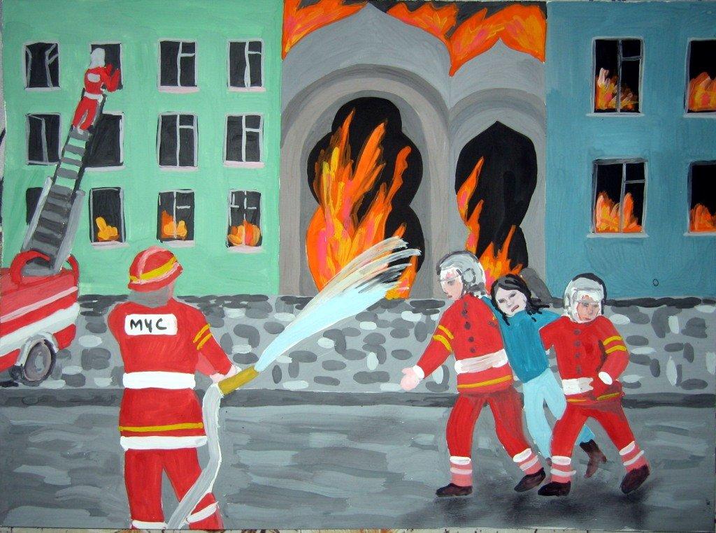 Картинки на пожарную тему