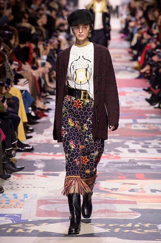 31f78d11674 восхитительный пример модного женского образа осень-зима 2018-2019 ...