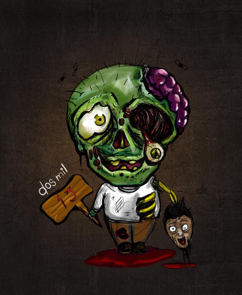 хранили картинки милых зомби новые