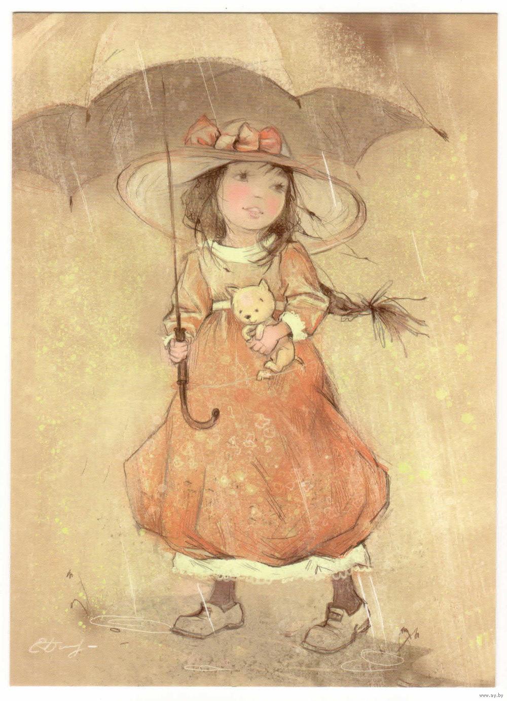 Песочные часы, красивые картинки художников иллюстраторов