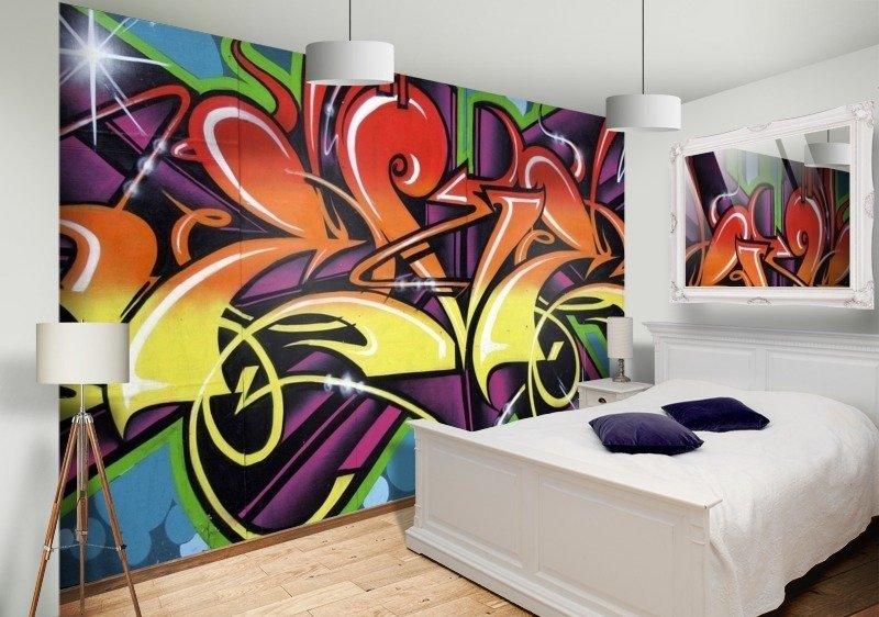 картинки комнаты с граффити задачка под силу