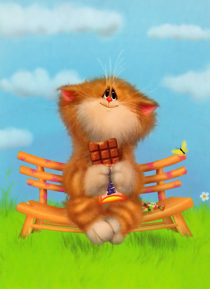 День прикольные, картинки коты долотова