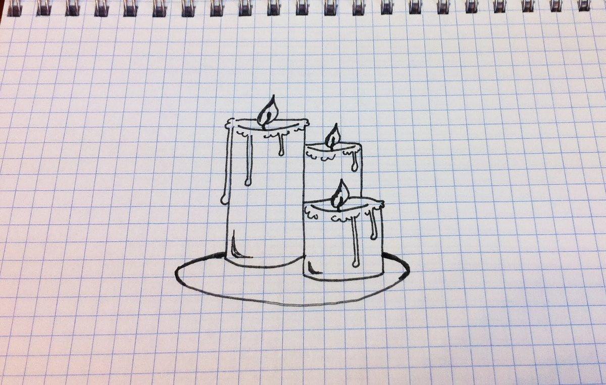 Рисунки в тетради в клеточку ручкой прикольные