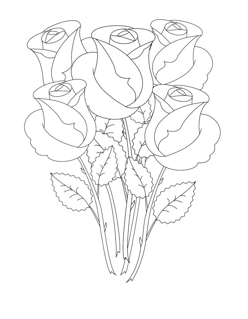 Поздравлением для, цветы маме картинки карандашом