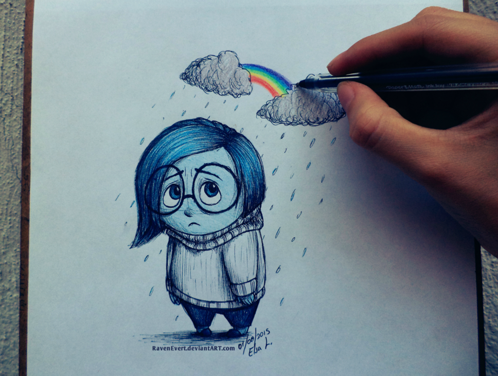 постоянно картинки печальки карандашом начала