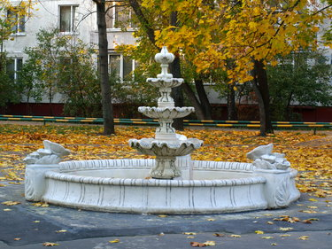 фонтан во владимире в парке