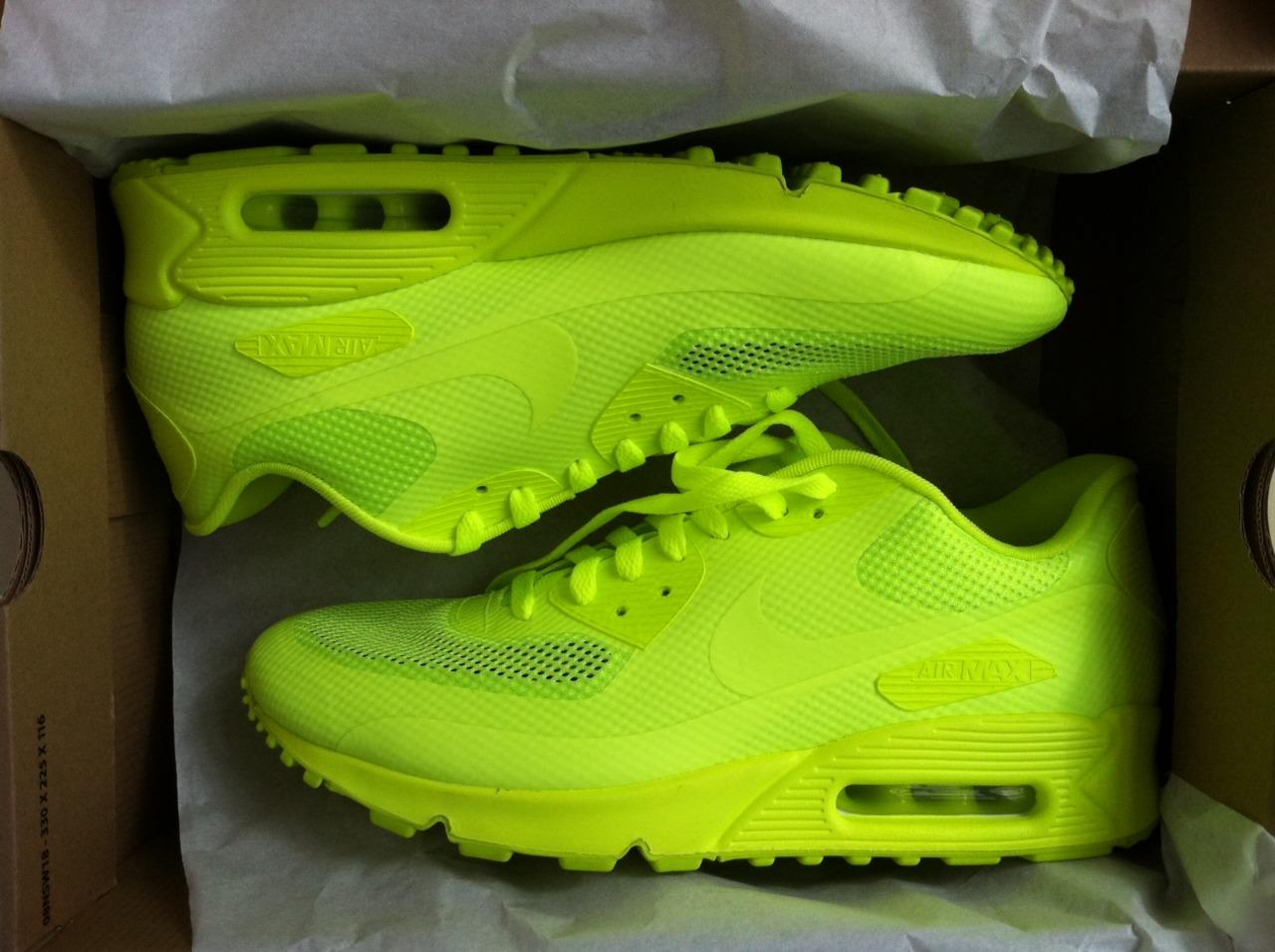 quality design 239ed fa6da ... usa sale yellow neon green black nike air max shoes lovense u2014 card  from user in