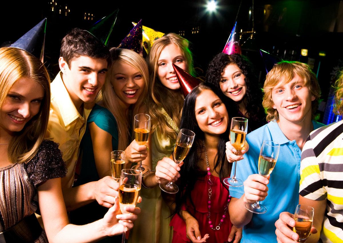 Новым годом, открытки хорошо отдохнуть на вечеринке