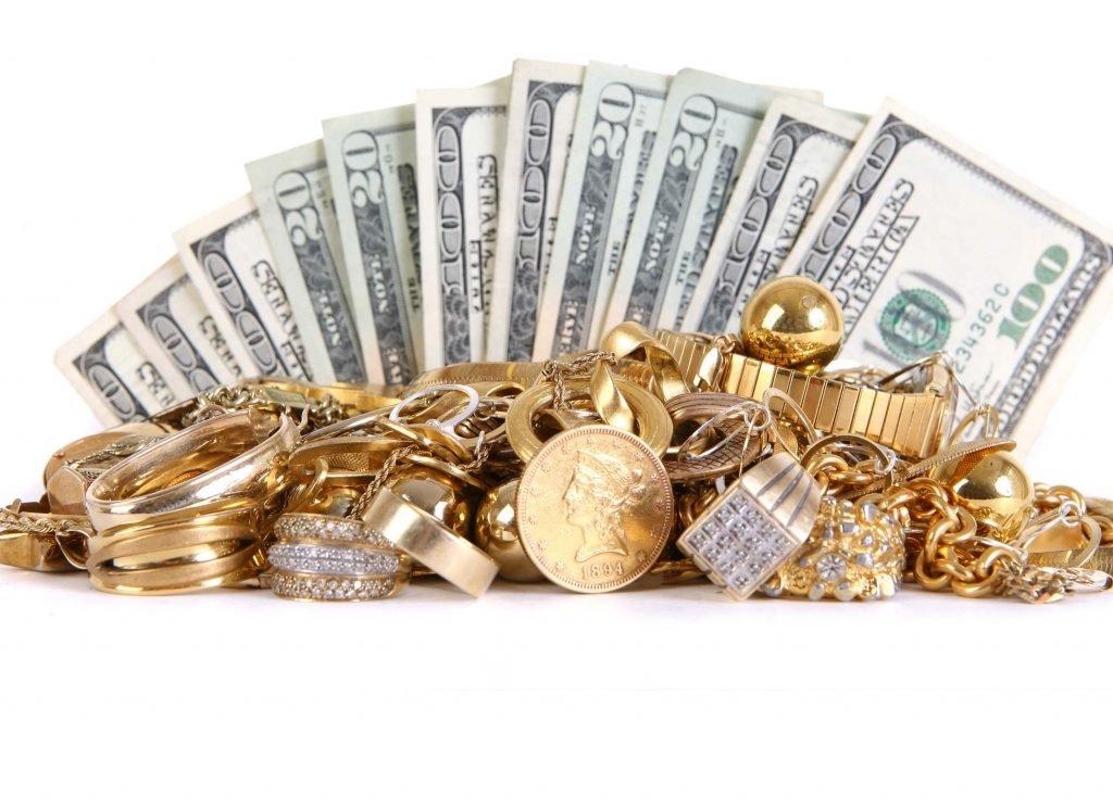 фото деньги золото богатство