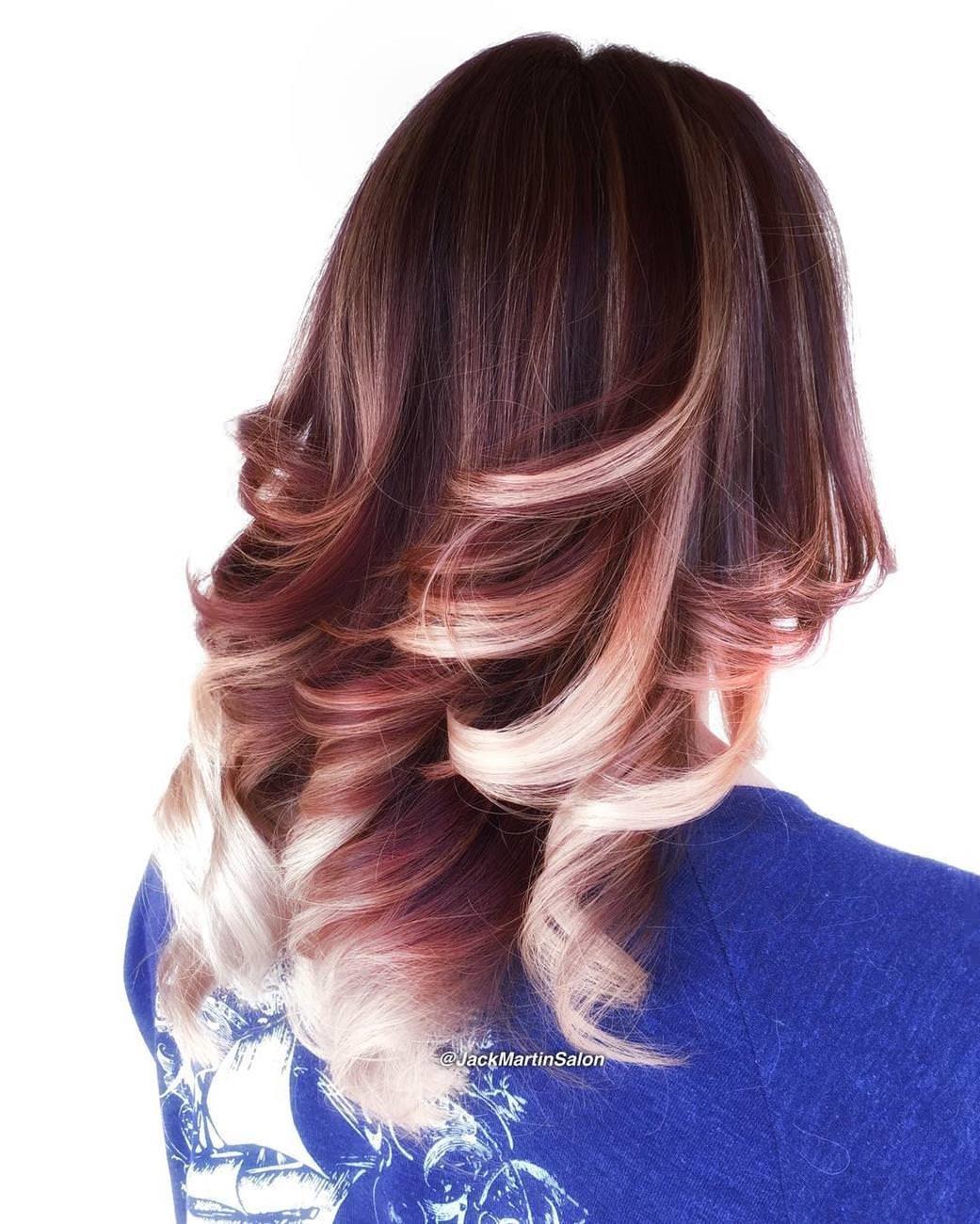 окрас волос омбре на средние волосы фото сажали без суда