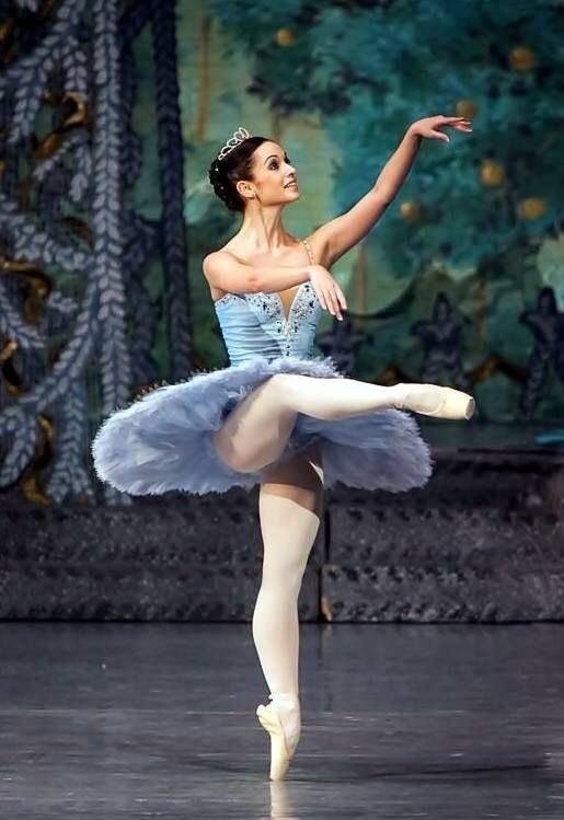 это особая балерины засветились информация