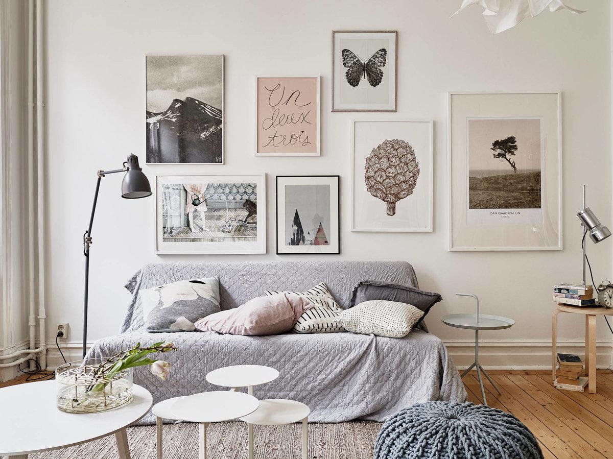 Скандинавские картинки для интерьера