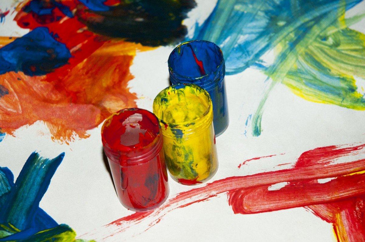 Картинки, как можно нарисовать картинки из красок