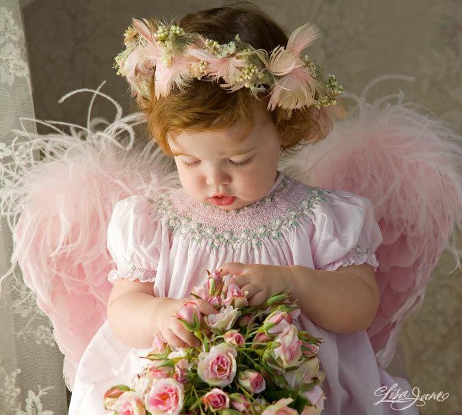 картинки с ангелами красивые с днем рождения часть стен