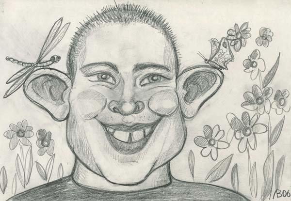 Рисунки на тему смешное лицо