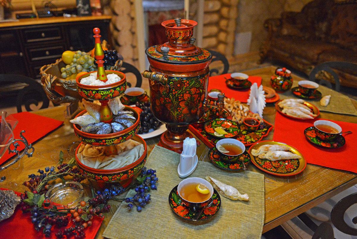 Картинки к русскому чаепитию