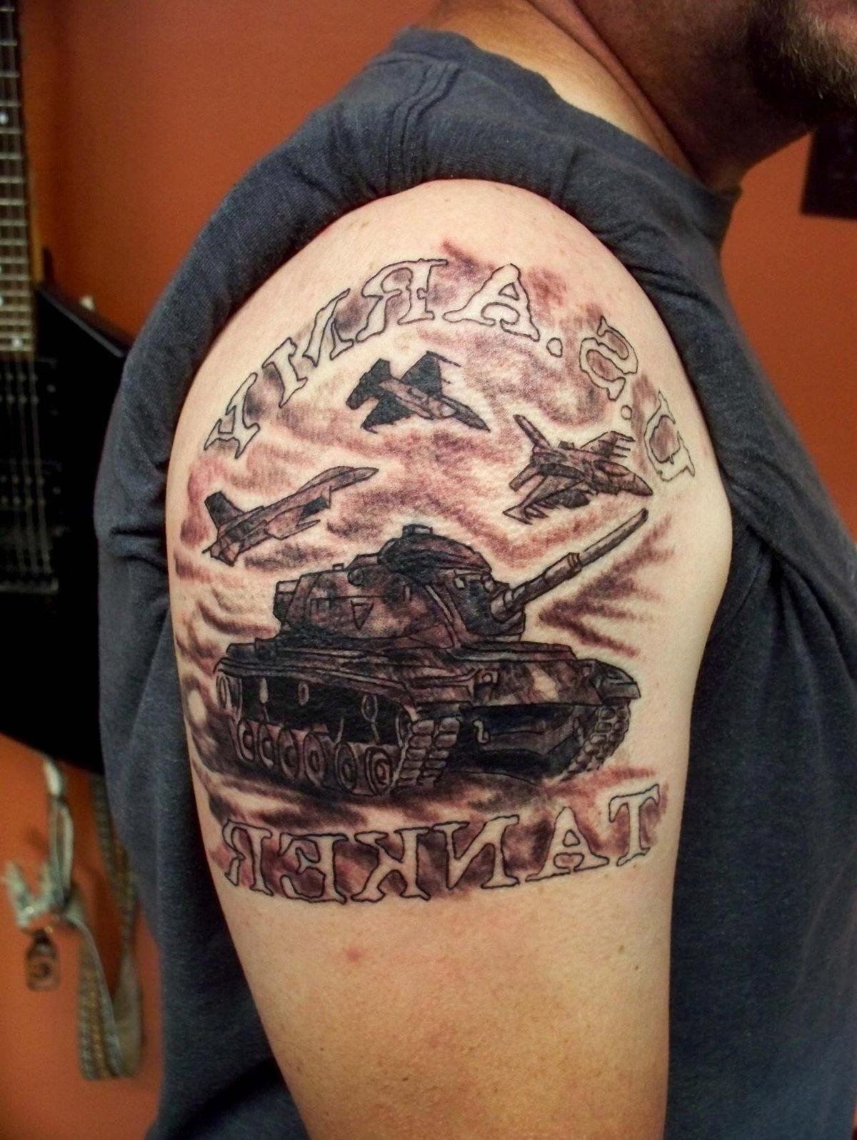 фотообои фото танкистов тату всегда точные