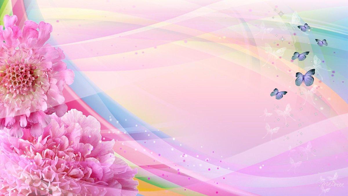 Картинка с днем рождения фон цветы