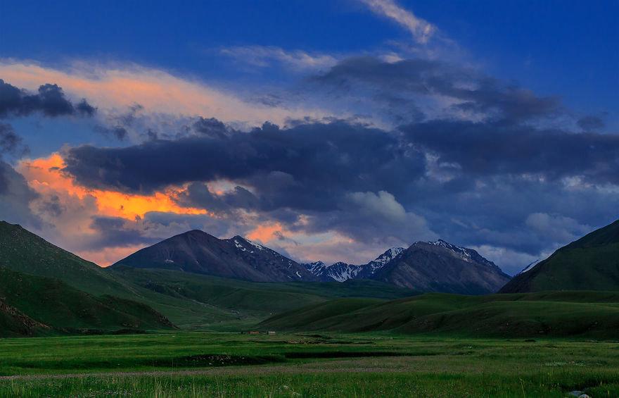 Картинки кыргызстана природы, открытки