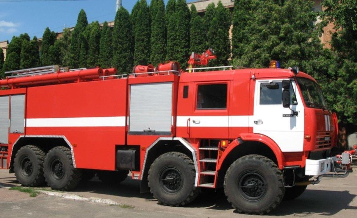пожарный водозащитный автомобиль фото стандартный