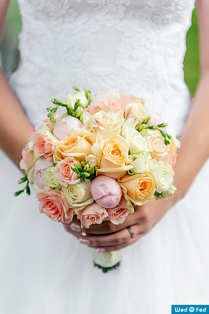 Недорогой свадебные букеты цена иркутск, роз