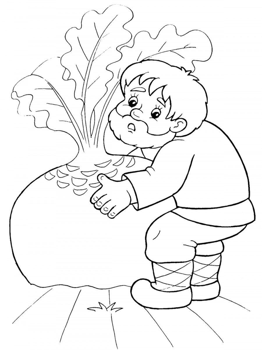 сказочный рисунок карандашом